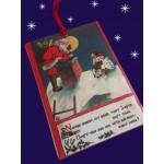 CH022 CHRISTMAS SANTA (WITH RIBBON)