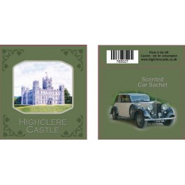Highclere Castle, car sachet
